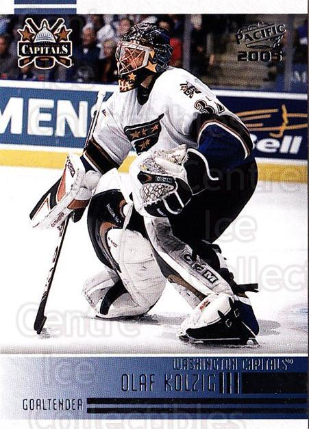2004-05 Pacific #264 Olaf Kolzig<br/>6 In Stock - $1.00 each - <a href=https://centericecollectibles.foxycart.com/cart?name=2004-05%20Pacific%20%23264%20Olaf%20Kolzig...&quantity_max=6&price=$1.00&code=202469 class=foxycart> Buy it now! </a>