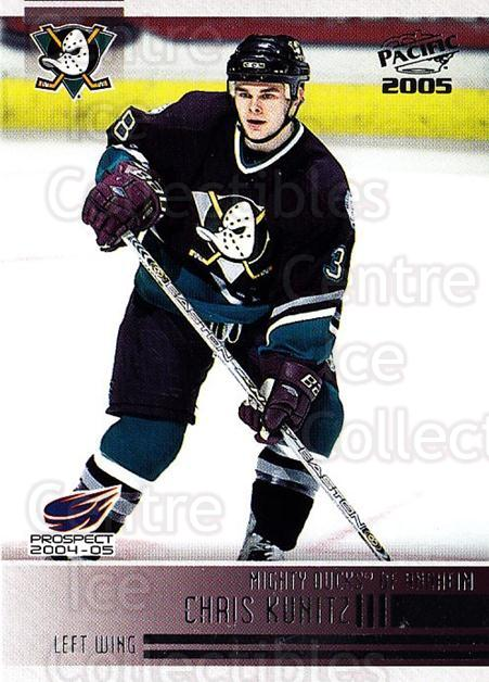 2004-05 Pacific #271 Chris Kunitz<br/>4 In Stock - $1.00 each - <a href=https://centericecollectibles.foxycart.com/cart?name=2004-05%20Pacific%20%23271%20Chris%20Kunitz...&quantity_max=4&price=$1.00&code=202476 class=foxycart> Buy it now! </a>