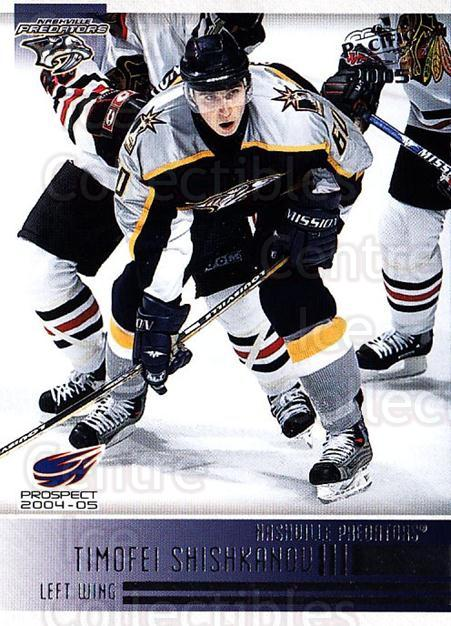 2004-05 Pacific #287 Timofei Shishkanov<br/>5 In Stock - $1.00 each - <a href=https://centericecollectibles.foxycart.com/cart?name=2004-05%20Pacific%20%23287%20Timofei%20Shishka...&quantity_max=5&price=$1.00&code=202488 class=foxycart> Buy it now! </a>