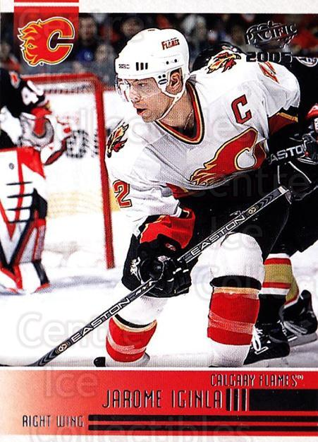 2004-05 Pacific #40 Jarome Iginla<br/>3 In Stock - $1.00 each - <a href=https://centericecollectibles.foxycart.com/cart?name=2004-05%20Pacific%20%2340%20Jarome%20Iginla...&quantity_max=3&price=$1.00&code=202507 class=foxycart> Buy it now! </a>