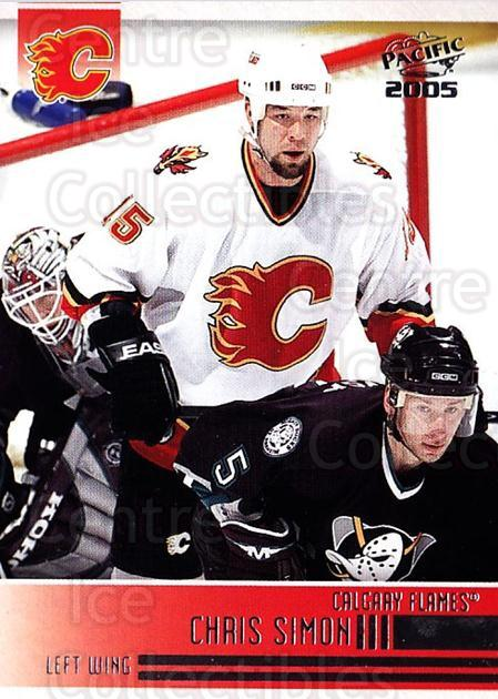 2004-05 Pacific #45 Chris Simon<br/>2 In Stock - $1.00 each - <a href=https://centericecollectibles.foxycart.com/cart?name=2004-05%20Pacific%20%2345%20Chris%20Simon...&quantity_max=2&price=$1.00&code=202512 class=foxycart> Buy it now! </a>