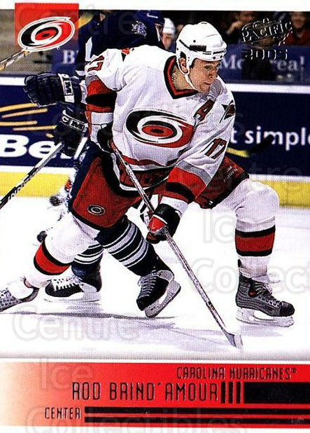 2004-05 Pacific #46 Rod Brind'Amour<br/>3 In Stock - $1.00 each - <a href=https://centericecollectibles.foxycart.com/cart?name=2004-05%20Pacific%20%2346%20Rod%20Brind'Amour...&quantity_max=3&price=$1.00&code=202513 class=foxycart> Buy it now! </a>