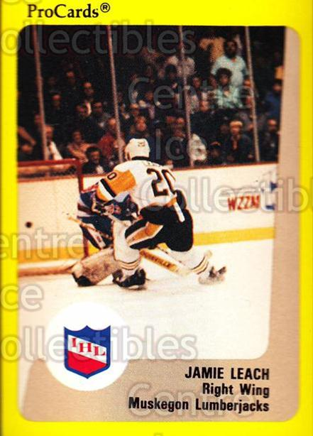 1989-90 ProCards IHL #143 Jamie Leach<br/>5 In Stock - $2.00 each - <a href=https://centericecollectibles.foxycart.com/cart?name=1989-90%20ProCards%20IHL%20%23143%20Jamie%20Leach...&quantity_max=5&price=$2.00&code=20251 class=foxycart> Buy it now! </a>