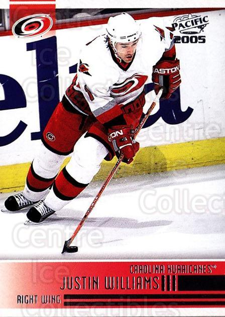 2004-05 Pacific #54 Justin Williams<br/>5 In Stock - $1.00 each - <a href=https://centericecollectibles.foxycart.com/cart?name=2004-05%20Pacific%20%2354%20Justin%20Williams...&quantity_max=5&price=$1.00&code=202522 class=foxycart> Buy it now! </a>