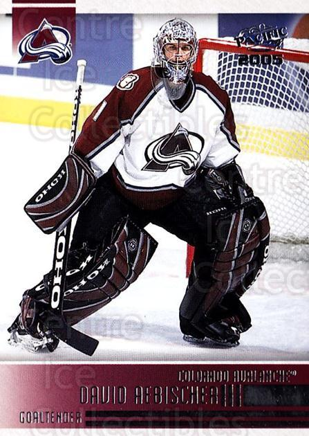 2004-05 Pacific #64 David Aebischer<br/>5 In Stock - $1.00 each - <a href=https://centericecollectibles.foxycart.com/cart?name=2004-05%20Pacific%20%2364%20David%20Aebischer...&quantity_max=5&price=$1.00&code=202533 class=foxycart> Buy it now! </a>