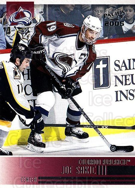 2004-05 Pacific #69 Joe Sakic<br/>3 In Stock - $2.00 each - <a href=https://centericecollectibles.foxycart.com/cart?name=2004-05%20Pacific%20%2369%20Joe%20Sakic...&quantity_max=3&price=$2.00&code=202538 class=foxycart> Buy it now! </a>