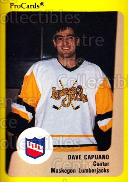 1989-90 ProCards IHL #145 Dave Capuano<br/>4 In Stock - $2.00 each - <a href=https://centericecollectibles.foxycart.com/cart?name=1989-90%20ProCards%20IHL%20%23145%20Dave%20Capuano...&quantity_max=4&price=$2.00&code=20253 class=foxycart> Buy it now! </a>