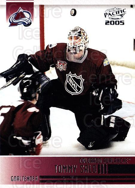 2004-05 Pacific #70 Tommy Salo<br/>6 In Stock - $1.00 each - <a href=https://centericecollectibles.foxycart.com/cart?name=2004-05%20Pacific%20%2370%20Tommy%20Salo...&quantity_max=6&price=$1.00&code=202540 class=foxycart> Buy it now! </a>