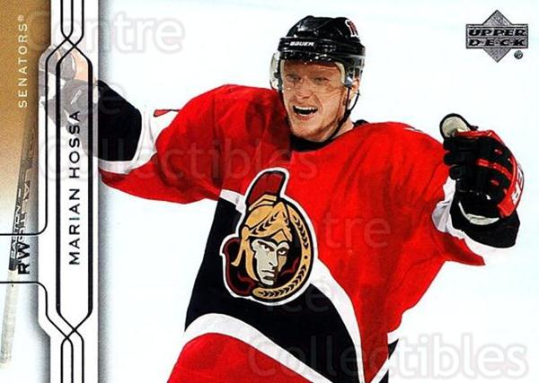 2004-05 Upper Deck #120 Marian Hossa<br/>4 In Stock - $1.00 each - <a href=https://centericecollectibles.foxycart.com/cart?name=2004-05%20Upper%20Deck%20%23120%20Marian%20Hossa...&quantity_max=4&price=$1.00&code=202704 class=foxycart> Buy it now! </a>