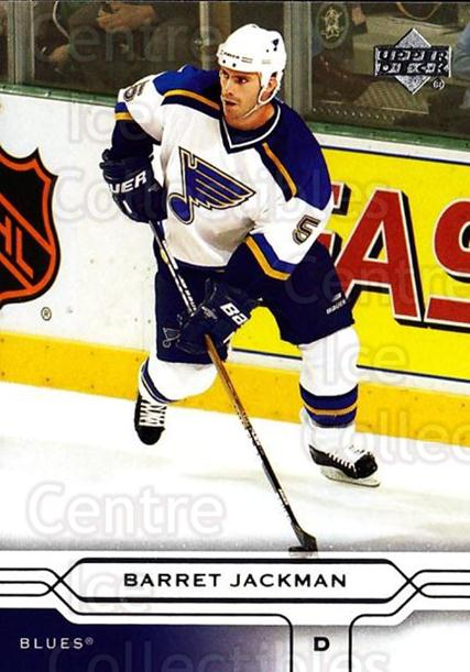 2004-05 Upper Deck #153 Barret Jackman<br/>5 In Stock - $1.00 each - <a href=https://centericecollectibles.foxycart.com/cart?name=2004-05%20Upper%20Deck%20%23153%20Barret%20Jackman...&quantity_max=5&price=$1.00&code=202737 class=foxycart> Buy it now! </a>