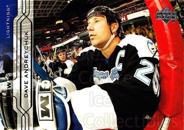 2004-05 Upper Deck #157 Dave Andreychuk<br/>5 In Stock - $1.00 each - <a href=https://centericecollectibles.foxycart.com/cart?name=2004-05%20Upper%20Deck%20%23157%20Dave%20Andreychuk...&quantity_max=5&price=$1.00&code=202741 class=foxycart> Buy it now! </a>