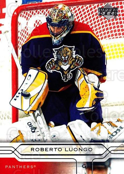 2004-05 Upper Deck #78 Roberto Luongo<br/>3 In Stock - $2.00 each - <a href=https://centericecollectibles.foxycart.com/cart?name=2004-05%20Upper%20Deck%20%2378%20Roberto%20Luongo...&quantity_max=3&price=$2.00&code=202847 class=foxycart> Buy it now! </a>