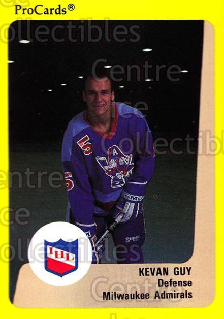 1989-90 ProCards IHL #177 Kevan Guy<br/>11 In Stock - $2.00 each - <a href=https://centericecollectibles.foxycart.com/cart?name=1989-90%20ProCards%20IHL%20%23177%20Kevan%20Guy...&quantity_max=11&price=$2.00&code=20285 class=foxycart> Buy it now! </a>