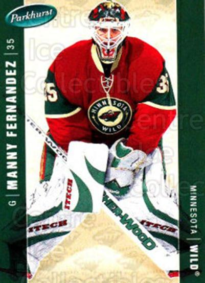 2005-06 Parkhurst #235 Manny Fernandez<br/>7 In Stock - $1.00 each - <a href=https://centericecollectibles.foxycart.com/cart?name=2005-06%20Parkhurst%20%23235%20Manny%20Fernandez...&quantity_max=7&price=$1.00&code=202872 class=foxycart> Buy it now! </a>