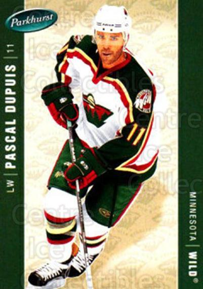 2005-06 Parkhurst #248 Pascal Dupuis<br/>8 In Stock - $1.00 each - <a href=https://centericecollectibles.foxycart.com/cart?name=2005-06%20Parkhurst%20%23248%20Pascal%20Dupuis...&quantity_max=8&price=$1.00&code=202886 class=foxycart> Buy it now! </a>