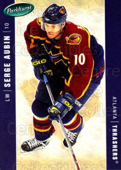 2005-06 Parkhurst #27 Serge Aubin<br/>4 In Stock - $1.00 each - <a href=https://centericecollectibles.foxycart.com/cart?name=2005-06%20Parkhurst%20%2327%20Serge%20Aubin...&quantity_max=4&price=$1.00&code=202910 class=foxycart> Buy it now! </a>