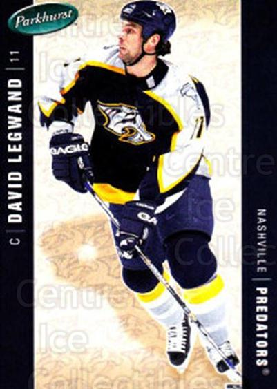 2005-06 Parkhurst #280 David Legwand<br/>8 In Stock - $1.00 each - <a href=https://centericecollectibles.foxycart.com/cart?name=2005-06%20Parkhurst%20%23280%20David%20Legwand...&quantity_max=8&price=$1.00&code=202922 class=foxycart> Buy it now! </a>