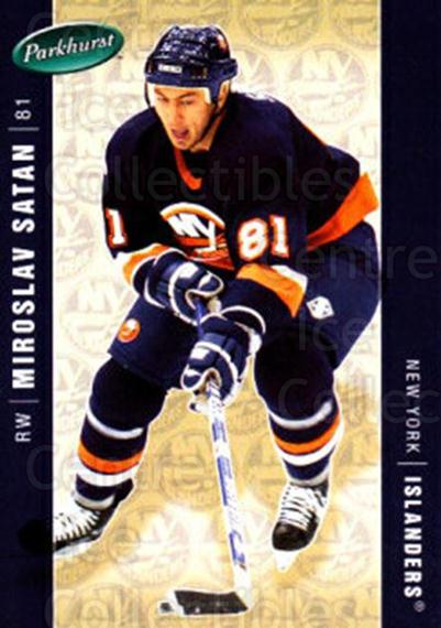 2005-06 Parkhurst #302 Miroslav Satan<br/>8 In Stock - $1.00 each - <a href=https://centericecollectibles.foxycart.com/cart?name=2005-06%20Parkhurst%20%23302%20Miroslav%20Satan...&quantity_max=8&price=$1.00&code=202931 class=foxycart> Buy it now! </a>