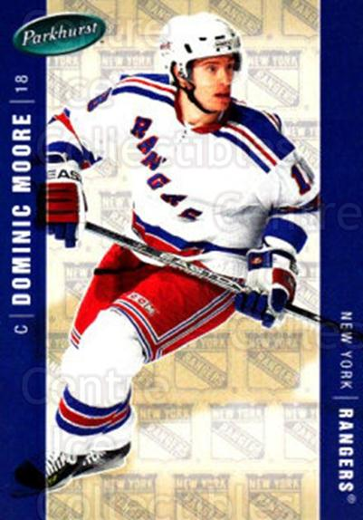 2005-06 Parkhurst #329 Dominic Moore<br/>8 In Stock - $1.00 each - <a href=https://centericecollectibles.foxycart.com/cart?name=2005-06%20Parkhurst%20%23329%20Dominic%20Moore...&quantity_max=8&price=$1.00&code=202960 class=foxycart> Buy it now! </a>