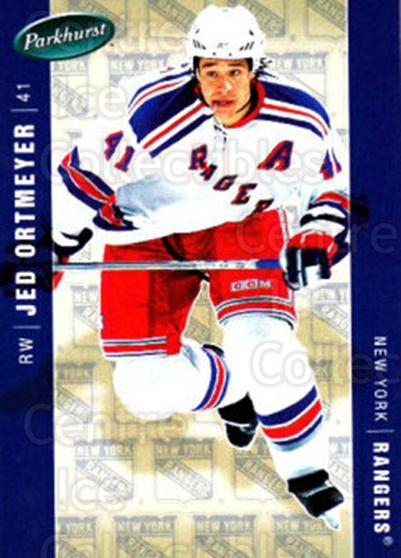 2005-06 Parkhurst #331 Jed Ortmeyer<br/>8 In Stock - $1.00 each - <a href=https://centericecollectibles.foxycart.com/cart?name=2005-06%20Parkhurst%20%23331%20Jed%20Ortmeyer...&quantity_max=8&price=$1.00&code=202963 class=foxycart> Buy it now! </a>