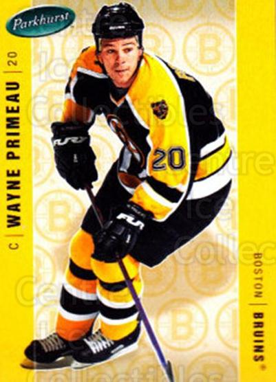 2005-06 Parkhurst #39 Wayne Primeau<br/>7 In Stock - $1.00 each - <a href=https://centericecollectibles.foxycart.com/cart?name=2005-06%20Parkhurst%20%2339%20Wayne%20Primeau...&quantity_max=7&price=$1.00&code=203027 class=foxycart> Buy it now! </a>