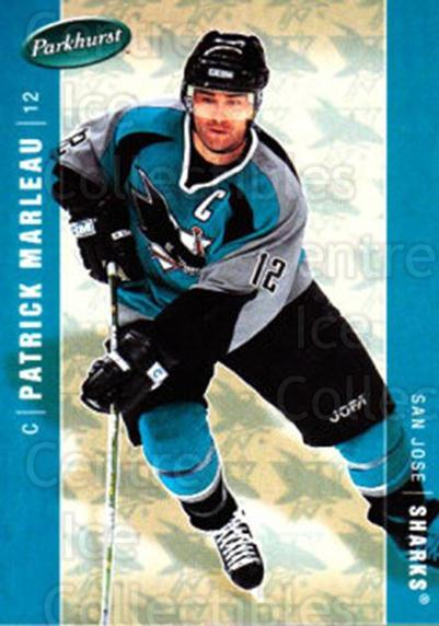 2005-06 Parkhurst #401 Patrick Marleau<br/>8 In Stock - $1.00 each - <a href=https://centericecollectibles.foxycart.com/cart?name=2005-06%20Parkhurst%20%23401%20Patrick%20Marleau...&quantity_max=8&price=$1.00&code=203041 class=foxycart> Buy it now! </a>