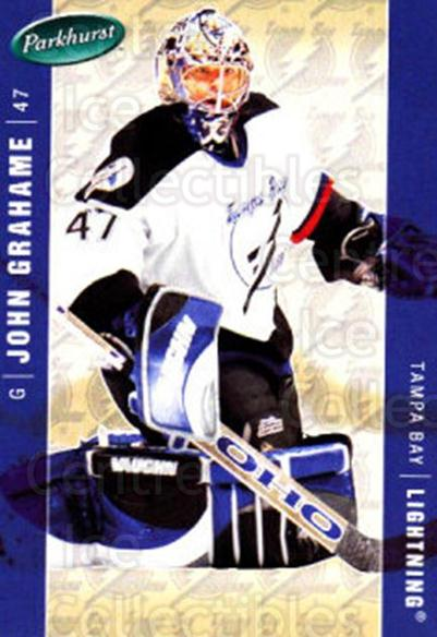 2005-06 Parkhurst #432 John Grahame<br/>7 In Stock - $1.00 each - <a href=https://centericecollectibles.foxycart.com/cart?name=2005-06%20Parkhurst%20%23432%20John%20Grahame...&quantity_max=7&price=$1.00&code=203075 class=foxycart> Buy it now! </a>