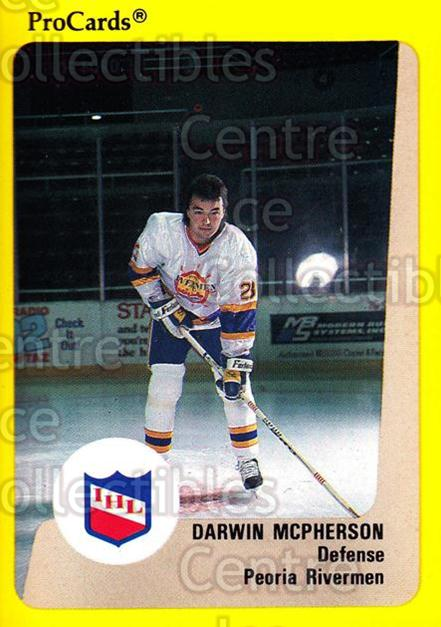 1989-90 ProCards IHL #2 Darwin McPherson<br/>7 In Stock - $2.00 each - <a href=https://centericecollectibles.foxycart.com/cart?name=1989-90%20ProCards%20IHL%20%232%20Darwin%20McPherso...&quantity_max=7&price=$2.00&code=20308 class=foxycart> Buy it now! </a>