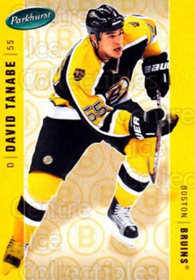 2005-06 Parkhurst #45 David Tanabe<br/>7 In Stock - $1.00 each - <a href=https://centericecollectibles.foxycart.com/cart?name=2005-06%20Parkhurst%20%2345%20David%20Tanabe...&quantity_max=7&price=$1.00&code=203094 class=foxycart> Buy it now! </a>