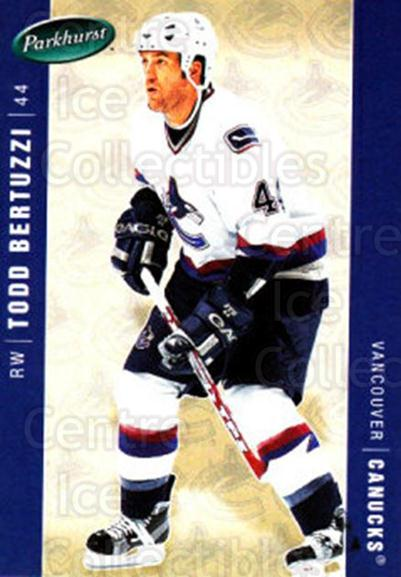 2005-06 Parkhurst #468 Todd Bertuzzi<br/>7 In Stock - $1.00 each - <a href=https://centericecollectibles.foxycart.com/cart?name=2005-06%20Parkhurst%20%23468%20Todd%20Bertuzzi...&quantity_max=7&price=$1.00&code=203114 class=foxycart> Buy it now! </a>