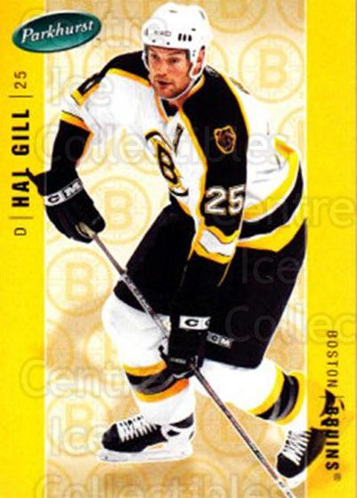 2005-06 Parkhurst #47 Hal Gill<br/>7 In Stock - $1.00 each - <a href=https://centericecollectibles.foxycart.com/cart?name=2005-06%20Parkhurst%20%2347%20Hal%20Gill...&quantity_max=7&price=$1.00&code=203116 class=foxycart> Buy it now! </a>