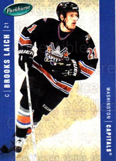 2005-06 Parkhurst #483 Brooks Laich<br/>7 In Stock - $1.00 each - <a href=https://centericecollectibles.foxycart.com/cart?name=2005-06%20Parkhurst%20%23483%20Brooks%20Laich...&quantity_max=7&price=$1.00&code=203131 class=foxycart> Buy it now! </a>
