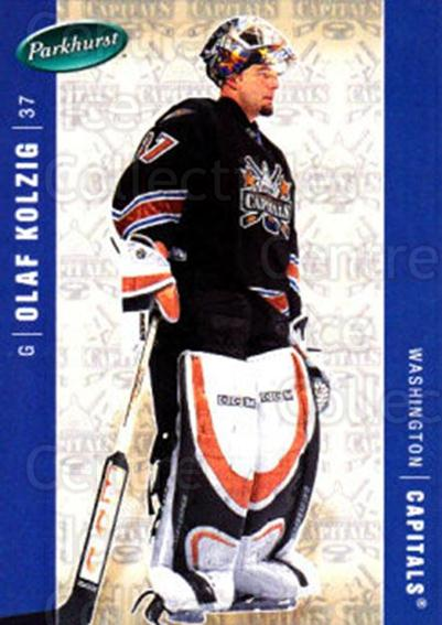 2005-06 Parkhurst #485 Olaf Kolzig<br/>7 In Stock - $1.00 each - <a href=https://centericecollectibles.foxycart.com/cart?name=2005-06%20Parkhurst%20%23485%20Olaf%20Kolzig...&quantity_max=7&price=$1.00&code=203133 class=foxycart> Buy it now! </a>
