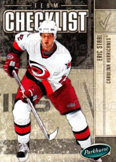 2005-06 Parkhurst #676 Eric Staal, Checklist<br/>6 In Stock - $1.00 each - <a href=https://centericecollectibles.foxycart.com/cart?name=2005-06%20Parkhurst%20%23676%20Eric%20Staal,%20Che...&quantity_max=6&price=$1.00&code=203311 class=foxycart> Buy it now! </a>