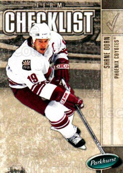 2005-06 Parkhurst #693 Shane Doan, Checklist<br/>4 In Stock - $1.00 each - <a href=https://centericecollectibles.foxycart.com/cart?name=2005-06%20Parkhurst%20%23693%20Shane%20Doan,%20Che...&quantity_max=4&price=$1.00&code=203328 class=foxycart> Buy it now! </a>