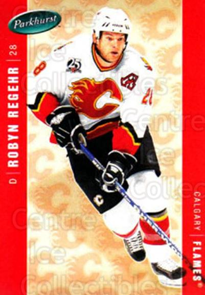 2005-06 Parkhurst #74 Robyn Regehr<br/>7 In Stock - $1.00 each - <a href=https://centericecollectibles.foxycart.com/cart?name=2005-06%20Parkhurst%20%2374%20Robyn%20Regehr...&quantity_max=7&price=$1.00&code=203339 class=foxycart> Buy it now! </a>