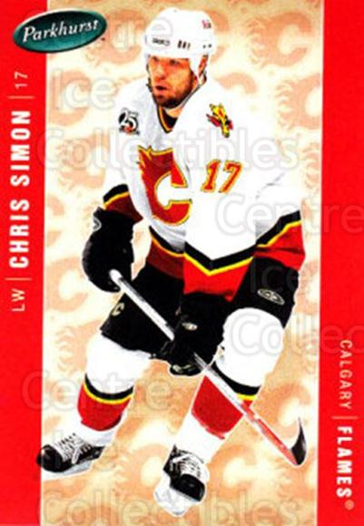2005-06 Parkhurst #78 Chris Simon<br/>3 In Stock - $1.00 each - <a href=https://centericecollectibles.foxycart.com/cart?name=2005-06%20Parkhurst%20%2378%20Chris%20Simon...&quantity_max=3&price=$1.00&code=203343 class=foxycart> Buy it now! </a>