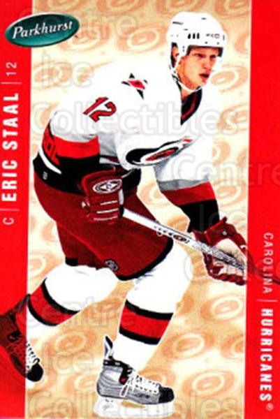 2005-06 Parkhurst #84 Eric Staal<br/>7 In Stock - $1.00 each - <a href=https://centericecollectibles.foxycart.com/cart?name=2005-06%20Parkhurst%20%2384%20Eric%20Staal...&quantity_max=7&price=$1.00&code=203350 class=foxycart> Buy it now! </a>