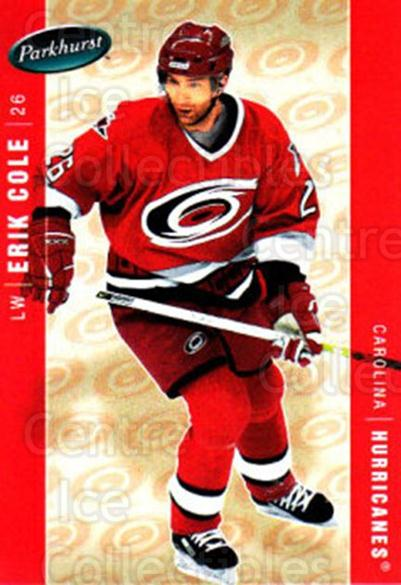 2005-06 Parkhurst #86 Erik Cole<br/>7 In Stock - $1.00 each - <a href=https://centericecollectibles.foxycart.com/cart?name=2005-06%20Parkhurst%20%2386%20Erik%20Cole...&quantity_max=7&price=$1.00&code=203352 class=foxycart> Buy it now! </a>