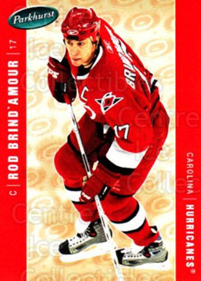 2005-06 Parkhurst #88 Rod Brind'Amour<br/>5 In Stock - $1.00 each - <a href=https://centericecollectibles.foxycart.com/cart?name=2005-06%20Parkhurst%20%2388%20Rod%20Brind'Amour...&quantity_max=5&price=$1.00&code=203354 class=foxycart> Buy it now! </a>