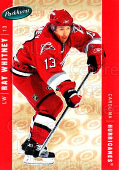 2005-06 Parkhurst #91 Ray Whitney<br/>7 In Stock - $1.00 each - <a href=https://centericecollectibles.foxycart.com/cart?name=2005-06%20Parkhurst%20%2391%20Ray%20Whitney...&quantity_max=7&price=$1.00&code=203358 class=foxycart> Buy it now! </a>