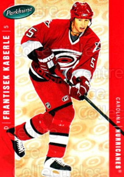 2005-06 Parkhurst #93 Frantisek Kaberle<br/>3 In Stock - $1.00 each - <a href=https://centericecollectibles.foxycart.com/cart?name=2005-06%20Parkhurst%20%2393%20Frantisek%20Kaber...&quantity_max=3&price=$1.00&code=203360 class=foxycart> Buy it now! </a>