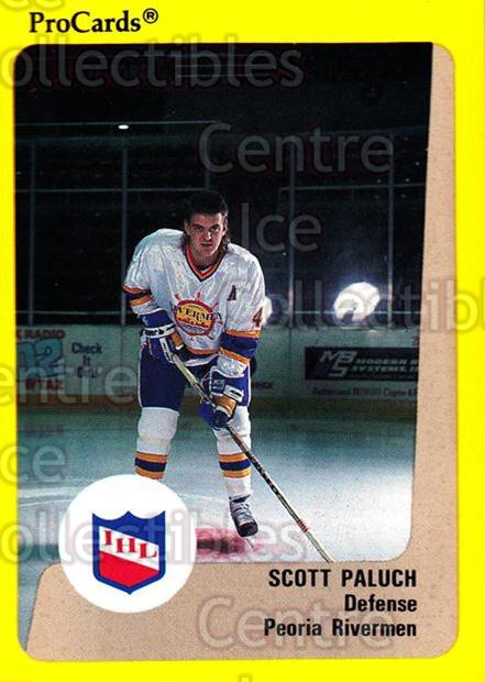1989-90 ProCards IHL #4 Scott Paluch<br/>5 In Stock - $2.00 each - <a href=https://centericecollectibles.foxycart.com/cart?name=1989-90%20ProCards%20IHL%20%234%20Scott%20Paluch...&quantity_max=5&price=$2.00&code=20338 class=foxycart> Buy it now! </a>