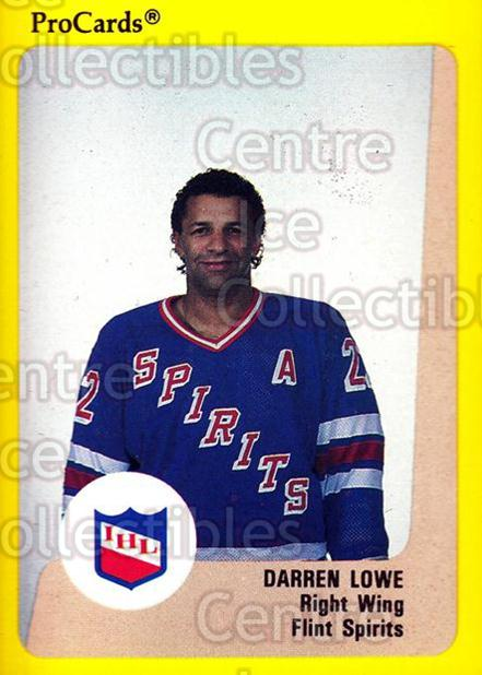 1989-90 ProCards IHL #45 Darren Lowe<br/>1 In Stock - $2.00 each - <a href=https://centericecollectibles.foxycart.com/cart?name=1989-90%20ProCards%20IHL%20%2345%20Darren%20Lowe...&quantity_max=1&price=$2.00&code=20344 class=foxycart> Buy it now! </a>