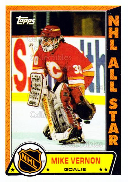 1989-90 Topps Stickers Insert #12 Mike Vernon<br/>7 In Stock - $1.00 each - <a href=https://centericecollectibles.foxycart.com/cart?name=1989-90%20Topps%20Stickers%20Insert%20%2312%20Mike%20Vernon...&quantity_max=7&price=$1.00&code=20369 class=foxycart> Buy it now! </a>