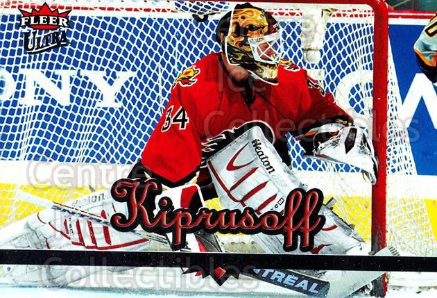 2005-06 Ultra #30 Miikka Kiprusoff<br/>12 In Stock - $2.00 each - <a href=https://centericecollectibles.foxycart.com/cart?name=2005-06%20Ultra%20%2330%20Miikka%20Kiprusof...&quantity_max=12&price=$2.00&code=203748 class=foxycart> Buy it now! </a>