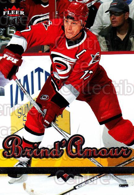 2005-06 Ultra #46 Rod Brind'Amour<br/>11 In Stock - $1.00 each - <a href=https://centericecollectibles.foxycart.com/cart?name=2005-06%20Ultra%20%2346%20Rod%20Brind'Amour...&quantity_max=11&price=$1.00&code=203765 class=foxycart> Buy it now! </a>