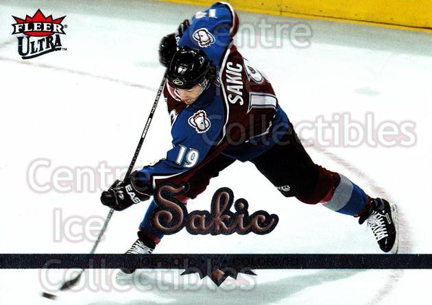 2005-06 Ultra #55 Joe Sakic<br/>12 In Stock - $2.00 each - <a href=https://centericecollectibles.foxycart.com/cart?name=2005-06%20Ultra%20%2355%20Joe%20Sakic...&quantity_max=12&price=$2.00&code=203775 class=foxycart> Buy it now! </a>
