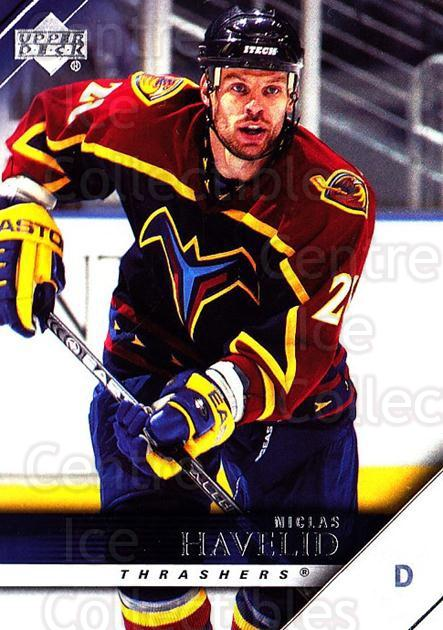 2005-06 Upper Deck #12 Niclas Havelid<br/>7 In Stock - $1.00 each - <a href=https://centericecollectibles.foxycart.com/cart?name=2005-06%20Upper%20Deck%20%2312%20Niclas%20Havelid...&quantity_max=7&price=$1.00&code=203902 class=foxycart> Buy it now! </a>