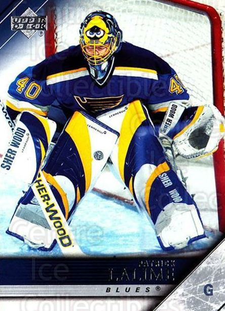 2005-06 Upper Deck #166 Patrick Lalime<br/>2 In Stock - $1.00 each - <a href=https://centericecollectibles.foxycart.com/cart?name=2005-06%20Upper%20Deck%20%23166%20Patrick%20Lalime...&quantity_max=2&price=$1.00&code=203953 class=foxycart> Buy it now! </a>